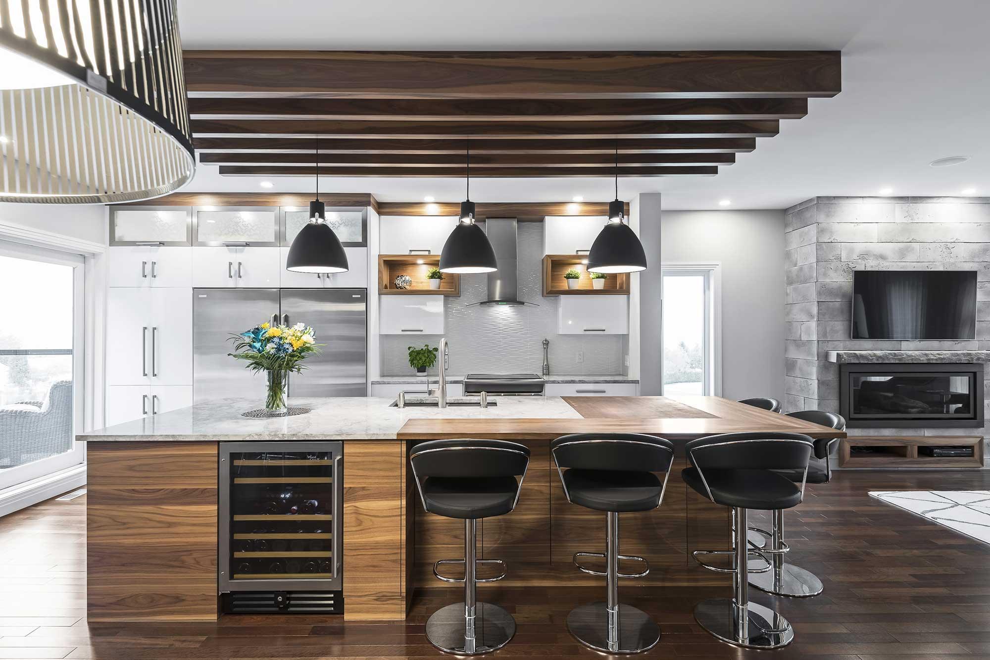 AINSLEY DESIGN ET CONCEPT Cuisine Rénovation Majeure Salle De Bain Plans